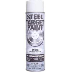 White Steel Target Paint