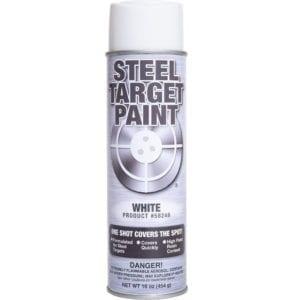White Steel Target Paint