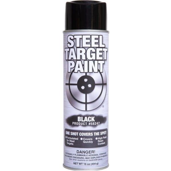 Black Steel Target Paint