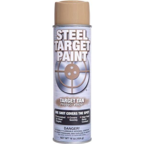 Tan Steel Target Paint